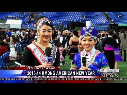 Hmong in Lao New Year