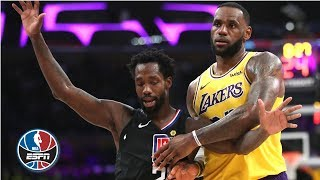 LeBron's 27 points not enough, Clippers beat Lakers   NBA Highlights