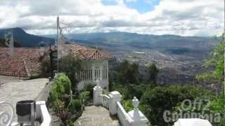 http://off2colombia.com takes a walk with you to Monserrate in the heights of Bogota, an essential visit to do while in the Colombian capital. You can get there either by foot (a nice climb) or by cable car.More about Monserrate and attractions in Bogota at: http://off2colombia.com/bogota