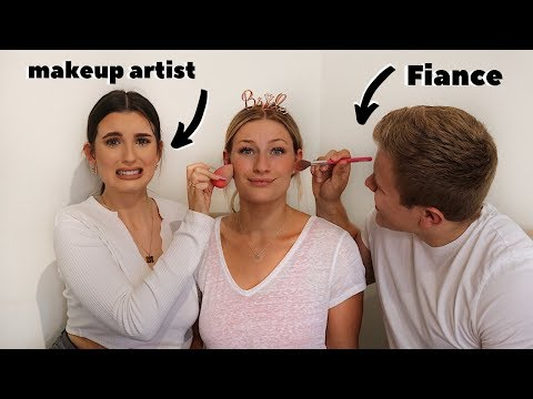FIANCE VS MAKEUP ARTIST... BEAUTY BATTLE!!