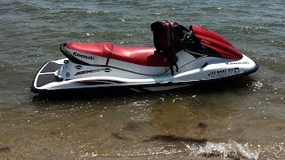 4. Winterizing Kawasaki STX 15F Jet Ski Including Anti Freeze In cooling system