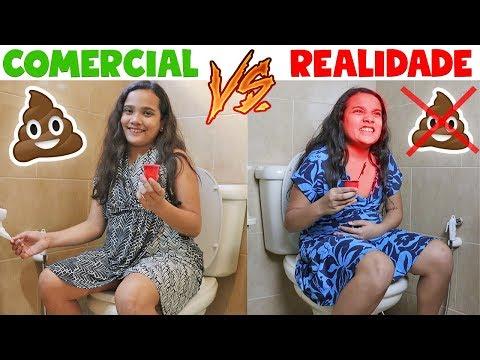 COMERCIAL VS REALIDADE 2 - JULIANA BALTAR (видео)