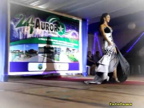 Tecia Franco Paz - Concurso de Miss Aurora do Pará 2015