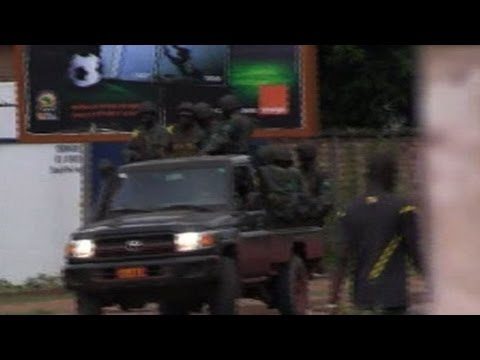 central africa - Central African strongman Michel Djotodia dissolves the country's institutions and declares transitional rule a day after a bloody coup that forced the presi...