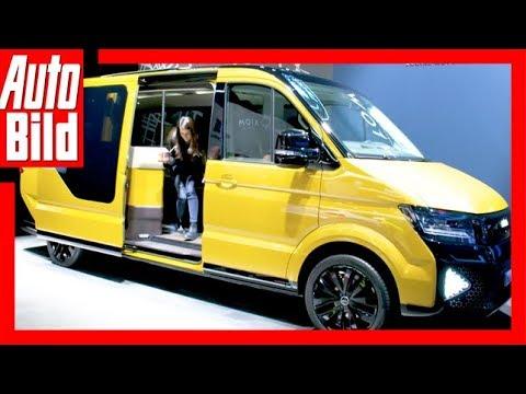 VW MOIA (Genf 2018) Sitzprobe / Erste Details / Erklä ...