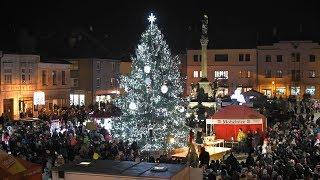 Náhled - Rozsvícení vánočního stromu v Mohelnici 2019