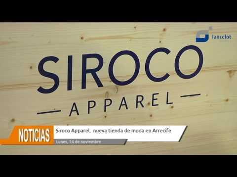 Siroco Apparel, nueva tienda de moda en Arrecife
