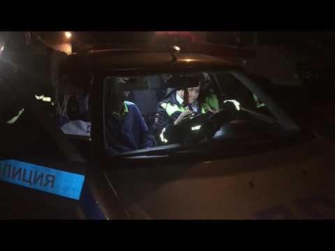 Водитель Opel, протаранивший столб, прикинулся пассажиром