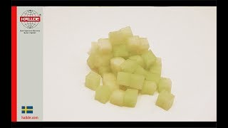 Melon: Dice 10x10x10 mm