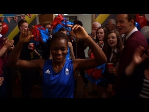 Nicola Adams vs Kacey Barry - Waterloo Road: Series 9 Episode 9 Preview - BBC One