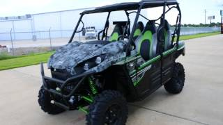9. $17,199:  2018 Kawasaki Teryx4 LE in Matrix Camo  Gray Overview and Review
