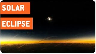 Total Solar Eclipse From An Airplane | Nature Time Lapse