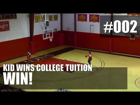 tuition - Kid Who Never Played Basketball Wins College Tuition With Four Perfect Shots ============================== ▻ SUBSCRIBE: https://www.youtube.com/user/VoominTV ...