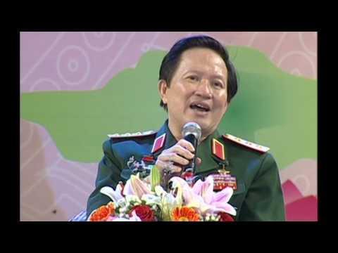 Thượng tướng Nguyễn Huy Hiệu giao lưu tại Cam Lộ Quảng trị