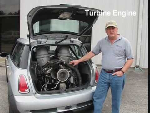 "BMP MINI Cooper ""S"" 640 HP Jet Turbine Engine"