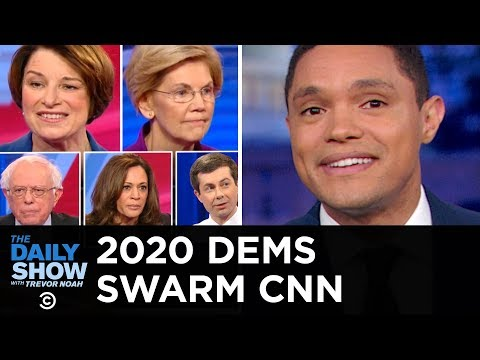 The CNN Town Halls: Warren Talks Cents, Klobuchar Gets Real and Buttigieg Wings It | The Daily Show
