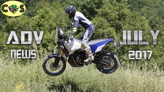 8. Adventure News: Yamaha T7, T4 and WR250R