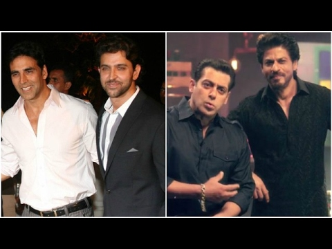 Hrithik & Akshay Planning A Film Together | Shahru