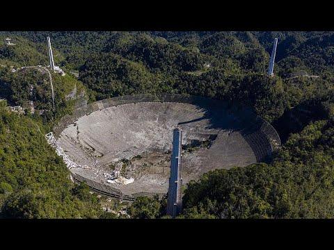 Τέλος εποχής για το ραδιοτηλεσκόπιο του Αρεσίμπο στο Πούερτο Ρίκο έπειτα από 57 χρόνια…