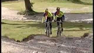 Cromford United Kingdom  city photo : Raleigh Mountain Bike Pro's of the 90's David Baker & Paul Hinton Black Rocks nr Cromford, UK 1993