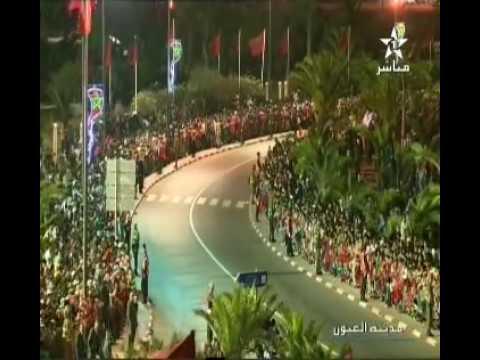 Video: King Mohammed VI Arrives in Laayoune