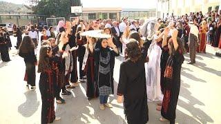 مدرسة بنات دير الغصون الأساسية تفتتح معرض التراث الفلسطيني