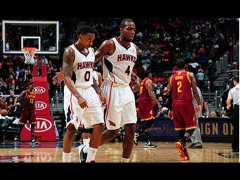 1st - Paul Millsap extends the Hawks huge first quarter lead over the Cavs with this LONG range buzzer beater. Visit nba.com/video for more highlights. About the N...
