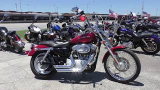 8. 417229 - 2006 Harley Davidson Sportster 883 Custom   XL883C - Used motorcycles for sale