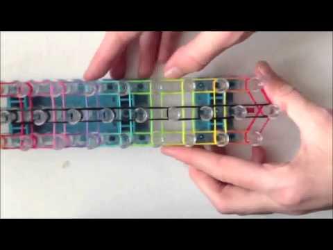 Bracelet en échelle Arc En Ciel Rainbow Loom France