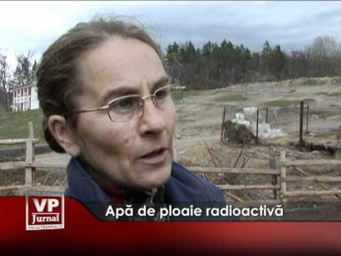 Apă de ploaie radioactivă