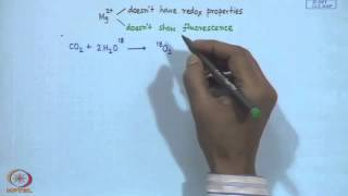 Mod-14 Lec- 14 Electron Transfer in Photosynthesis - I