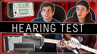 Guessing REAL vs  FAKE Amps