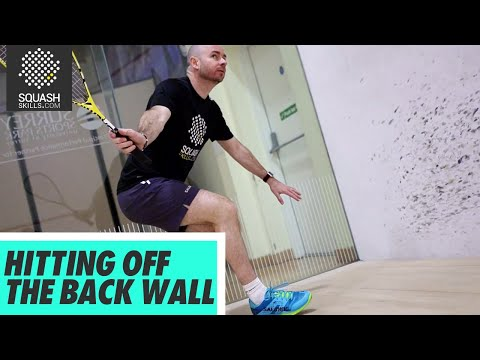 Squash tips: Hitting the ball off the back wall - Back corner session with Jesse Engelbrecht