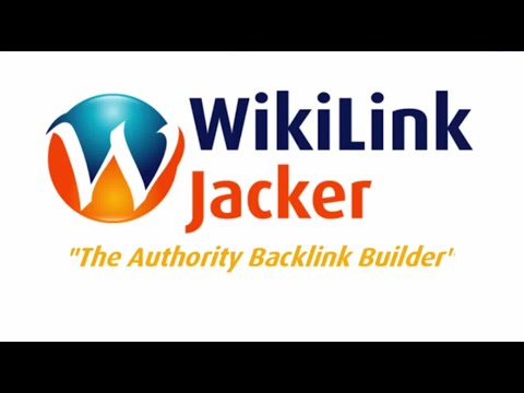 WikiLink Jacker Pro Demo Software : Get High Authority Wiki Backlinks Fast