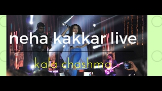 Neha kakkar LIVE singing kala chashma.. enjoy the song and dont forget to subscribe. -~-~~-~~~-~~-~- Please watch: