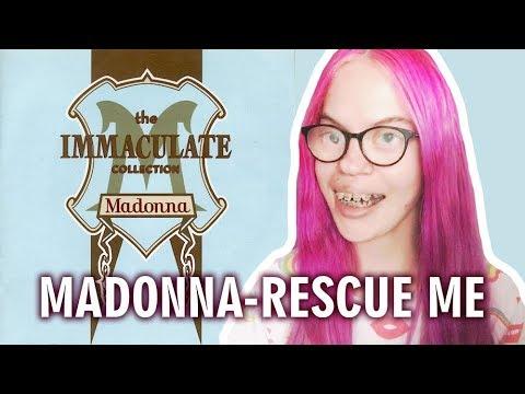 MADONNA - RESCUE ME (REACTION) | Sisley Reacts