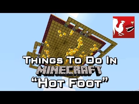 Foot - Geoff, Gav and the lads play a new made up game called hot foot.