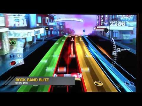 rock band blitz xbox 360 songs