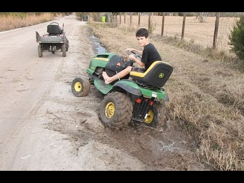 New Driver and a Stuck Deere