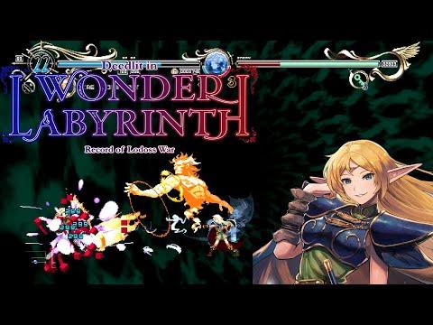 Record of Lodoss War: Deedlit in Wonder Labyrinth - Full Playthrough (Stage 3 & 4 Update)