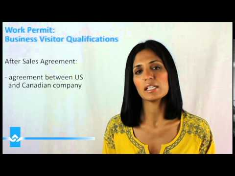 Canada Business Visitor Qualifications Video
