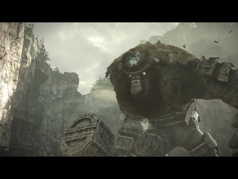 Shadow of the Colossus Remastered Gameplay Demo - PSX 2017