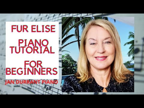 Fur Elise Easy Piano Sheet Music
