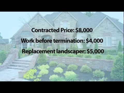 36. Contracts: Restitution
