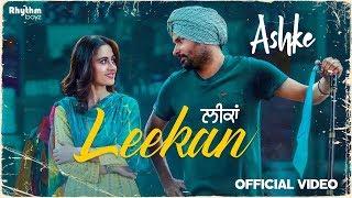 Video Leekan | Amrinder Gill | Jatinder Shah | Raj Ranjodh| Ashke | Rhythm Boyz MP3, 3GP, MP4, WEBM, AVI, FLV Agustus 2018