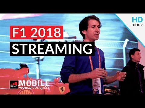 UFFICIALE! F1 2018 in diretta streaming su TV, tablet e smartphone | MWC 2018