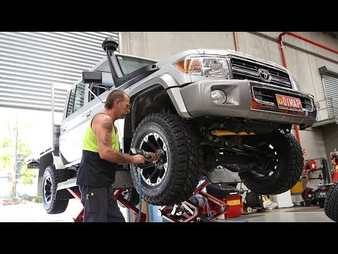 Building the Map Patrol: Tyres and Rims | Modified LandCruiser 79 Dual Cab
