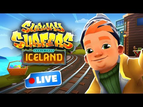🎮 Subway Surfers World Tour 2018 - Iceland Gameplay Livestream (видео)