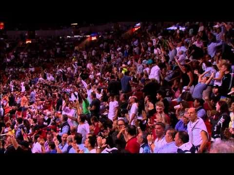 Video: Chalmers Beats Buzzer with Long Half-Court Shot