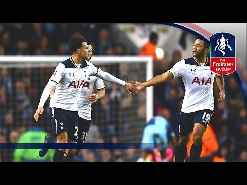 Tottenham Hotspur 4 - 3 Wycombe Wanderers